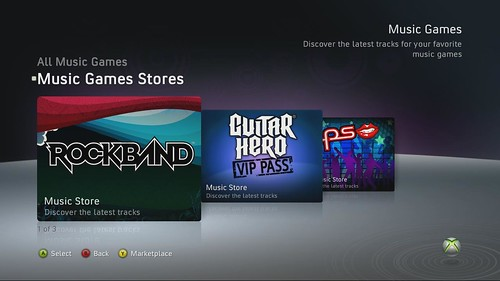 Music Game Stores | by Major Nelson