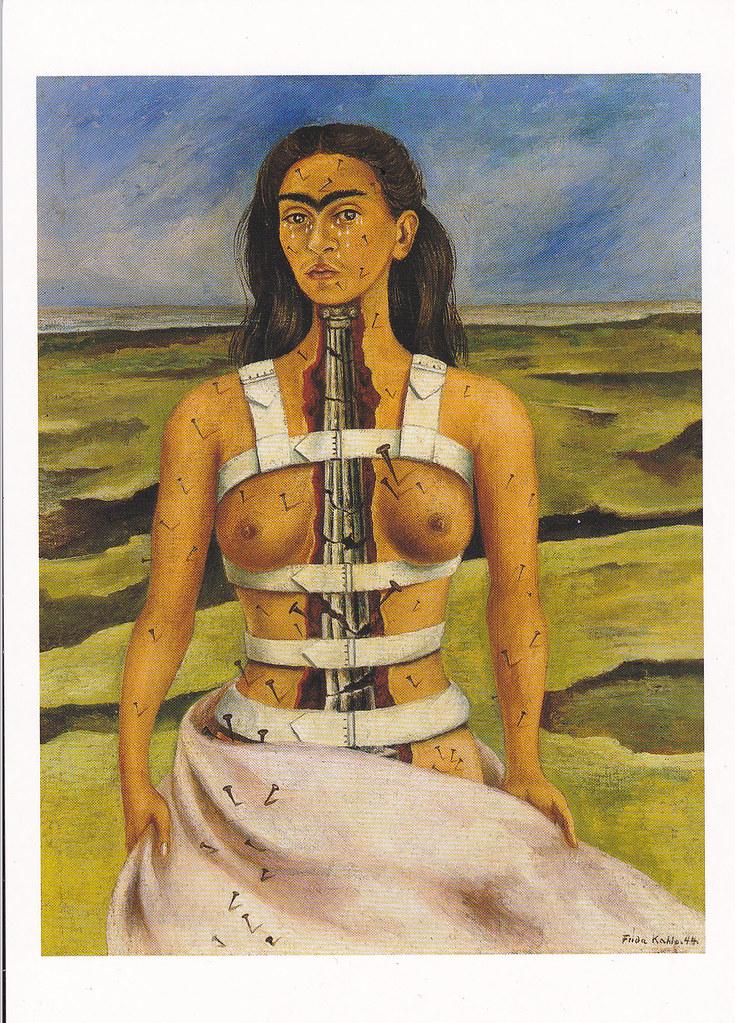 Frida Kahlo-The Broken Column