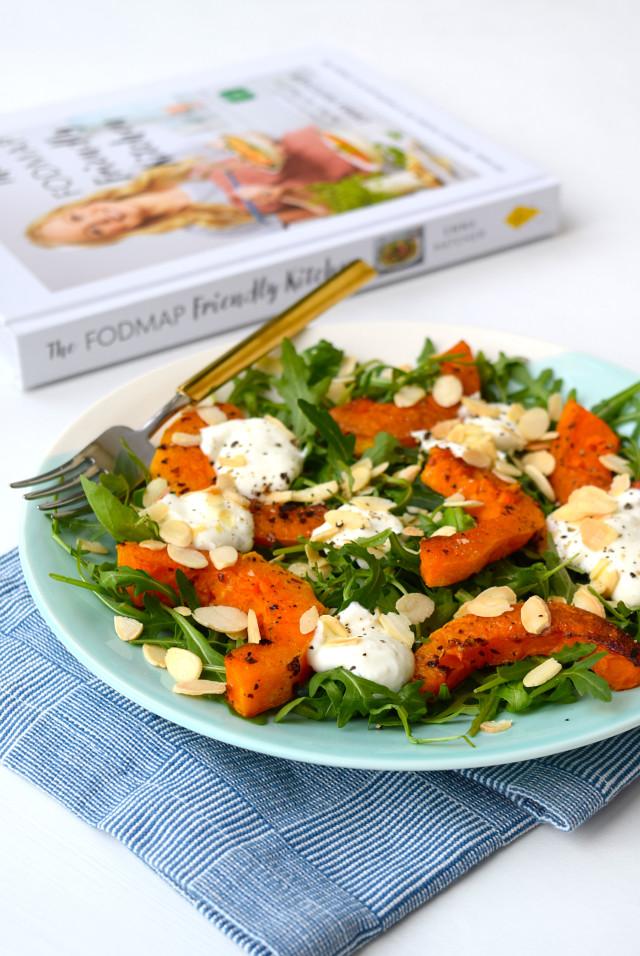 Butternut Squash Salad & Rocket Salad with Whipped Feta | www.rachelphipps.com @rachelphipps