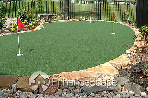 how to build a putting green outdoor