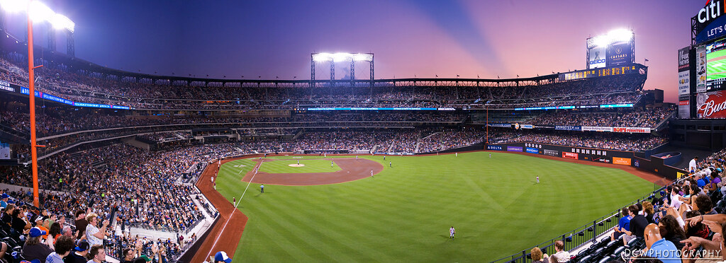 CitiField at Sunset