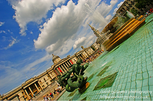 London Trafalgar Square :: Long Gone Summer | by davidgutierrez.co.uk