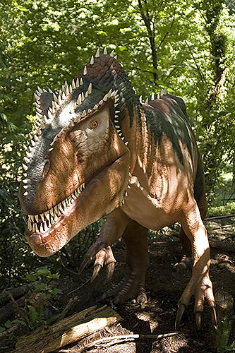 Oregon Zoo: Dinosaurs At The Oregon Zoo, Megalosaurus