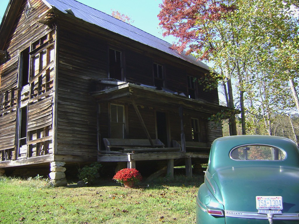 Benny parsons old home place and car at rendezvous ridge for Rendezvous classic house