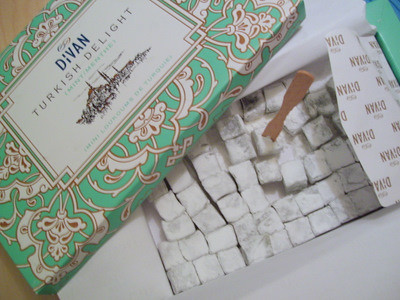 Mint turkish delight the vendor tulumba an online for Divan rose turkish delight