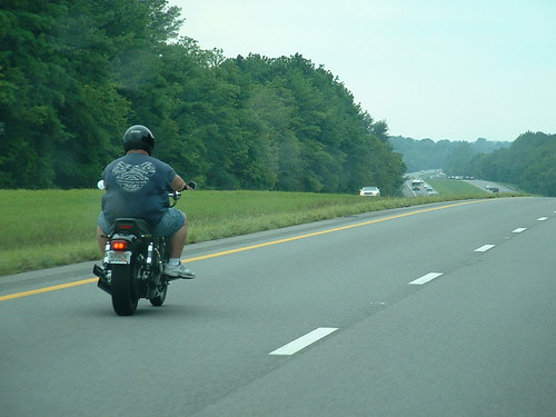 Fat man on a motorcycle | by riffsyphon1024