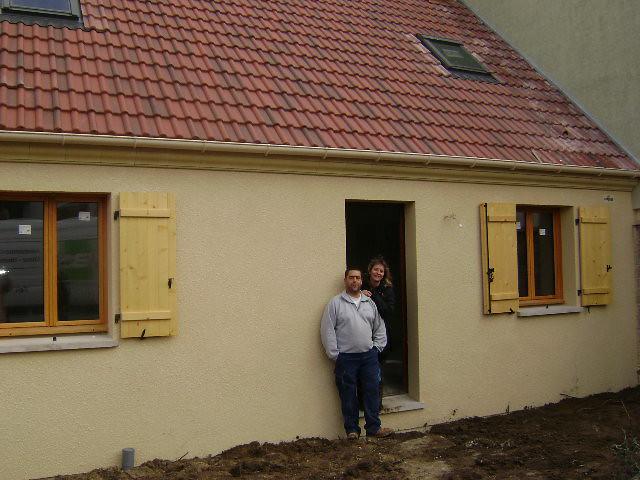 Livraison du maisons pierre mod le libre une maison for Maison pierre modele orleans