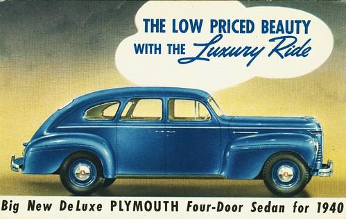 1940 plymouth deluxe 4 door sedan alden jewell flickr for 1940 dodge 4 door sedan
