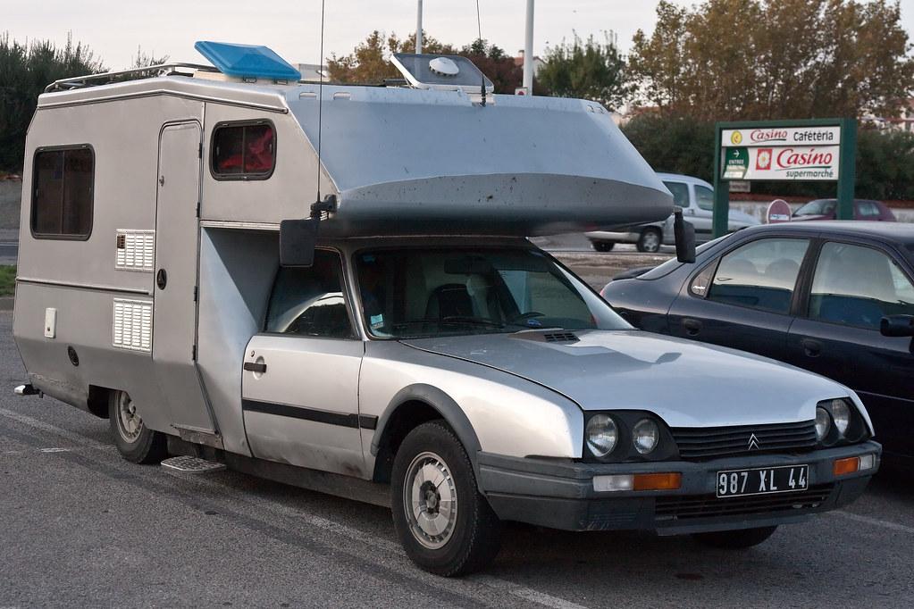 cx camping car 3 a citro n cx car transformed into an. Black Bedroom Furniture Sets. Home Design Ideas