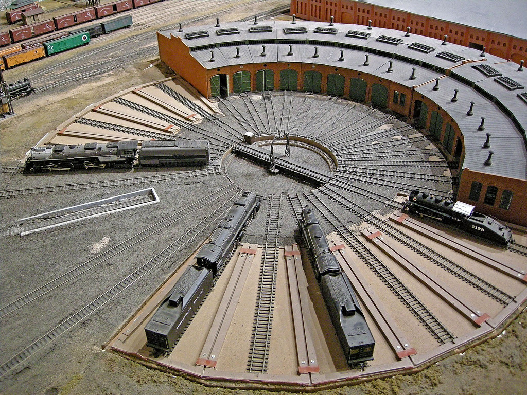 Ho Scale Roundhouse Plans