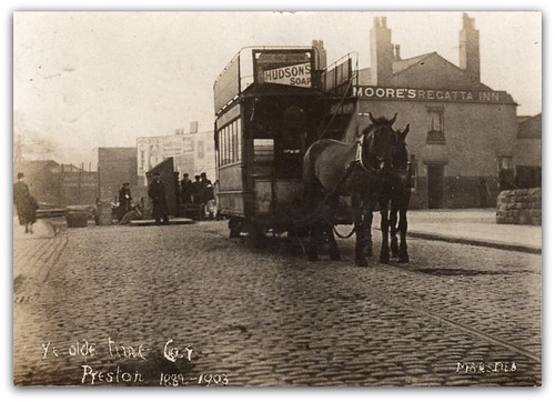 Ye Olde Time Car, Preston 1882-1903. | by Preston Digital Archive