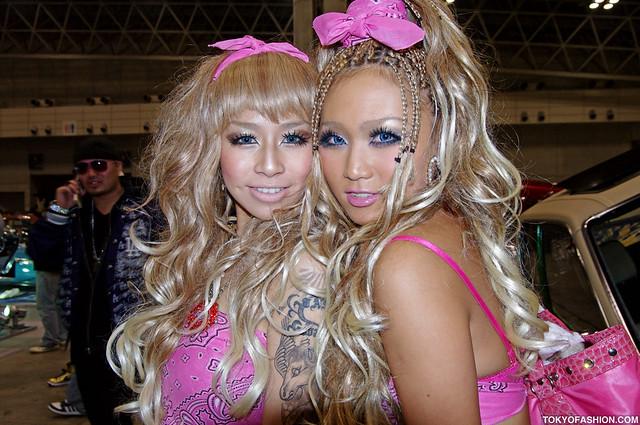 Blonde Japanese Girls