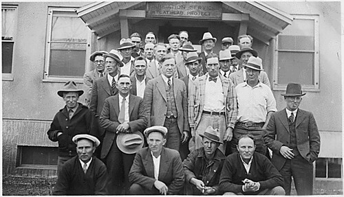 Irrigation Service employees, Flathead Irrigation Project | by The U.S. National Archives