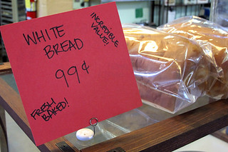 white bread 99cents | by David Lebovitz