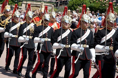 The Blues and Royals, the Order of the Garter Ceremony 2011 | by EmmaJG
