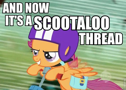 and now its a scootaloo thread | by lillyfsn