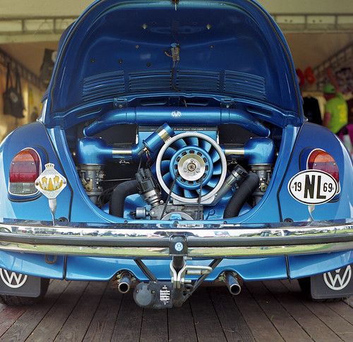 Vw Bug Engines Through The Years: 1969 VW Beetle (blue Engine)