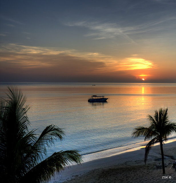 Jamaican Sunrise Sunrise From Our Balcony Jamaica 2008