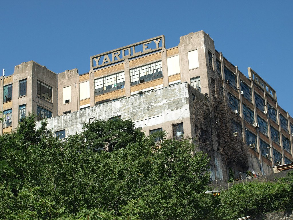 Yardley Soap Building Union City New Jersey This