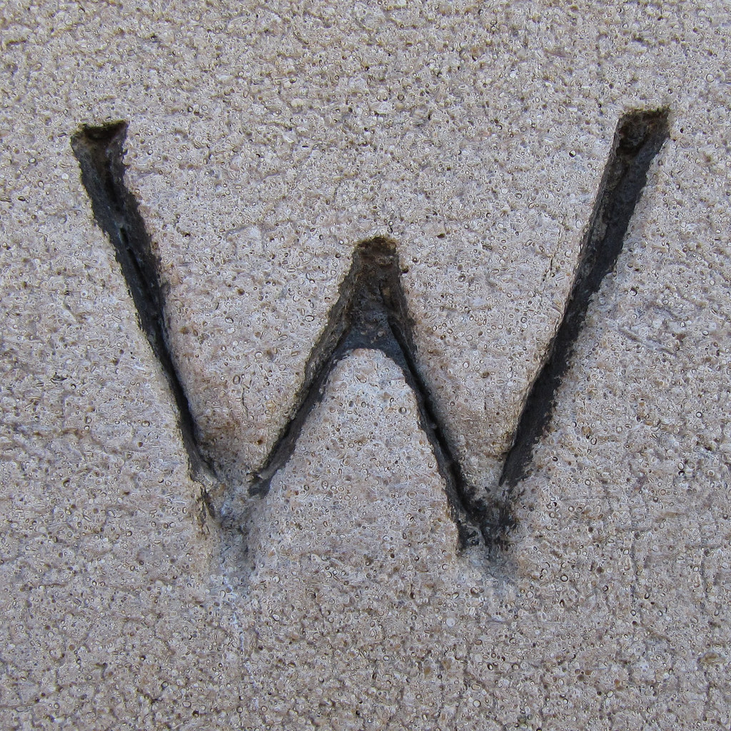 Letter W Wall Decor