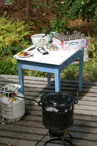 outdoor canning station | by shauna | glutenfreegirl