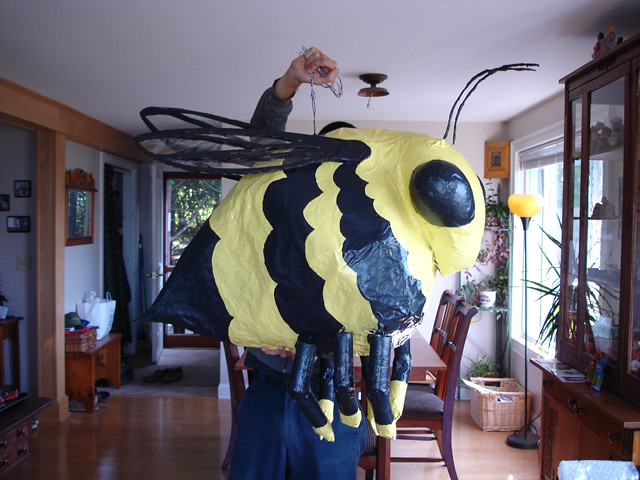 bumblebee paper mache Bumble bee baby shower ideas - are you a queen bee having a ba-bee  you can get creative and make one with paper mache, or find one in a store food.
