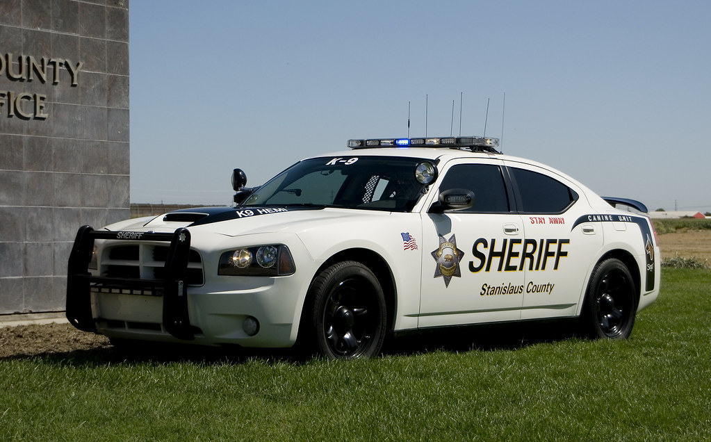 Crown Victoria Sheriff Patrol Car