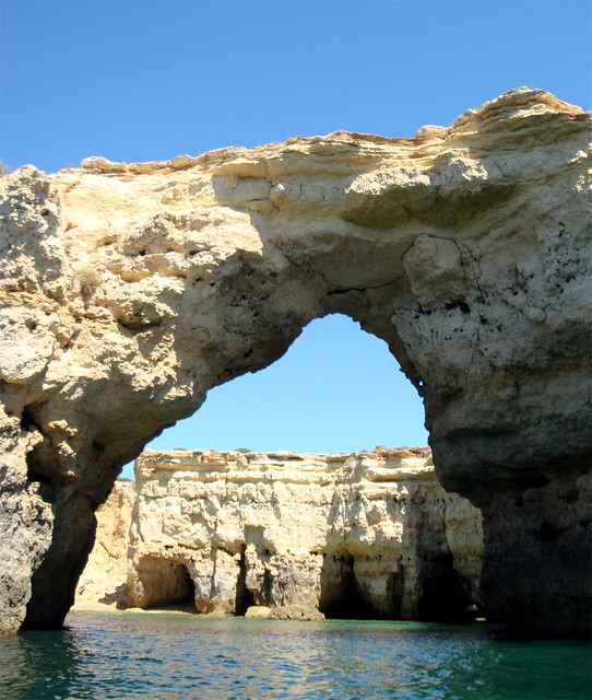 Armacao de Pera Portugal  city pictures gallery : Natural sea arch, near Armacao de Pera, Portugal | Flickr Photo ...