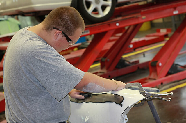 Diman Automotive Collision Repair and Refinishing Program