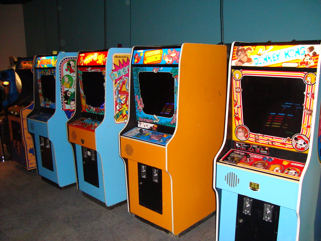 Vintage Arcade Games >> Vintage Arcade Games At Strong Museum While In Rochester F Flickr