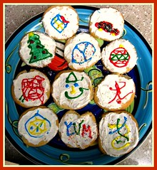 Cookies are Good for You, My Annual  Merry Christmass, Happy Hanukka, Winter Soltice, Creative, Yummy, Extra Delcious Cookie Decocation Party, Come and Pick you Favorite Flavor | by moonjazz