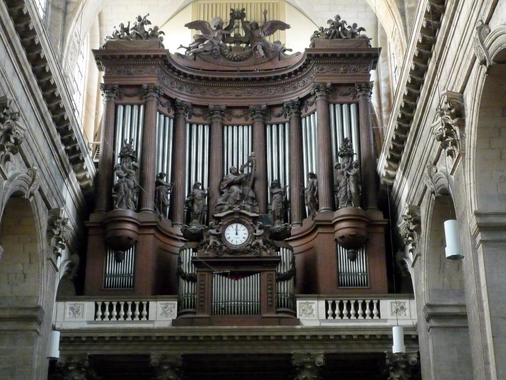 Les grandes orgues de saint sulpice le grand orgue fut for Architecte 3d wikipedia