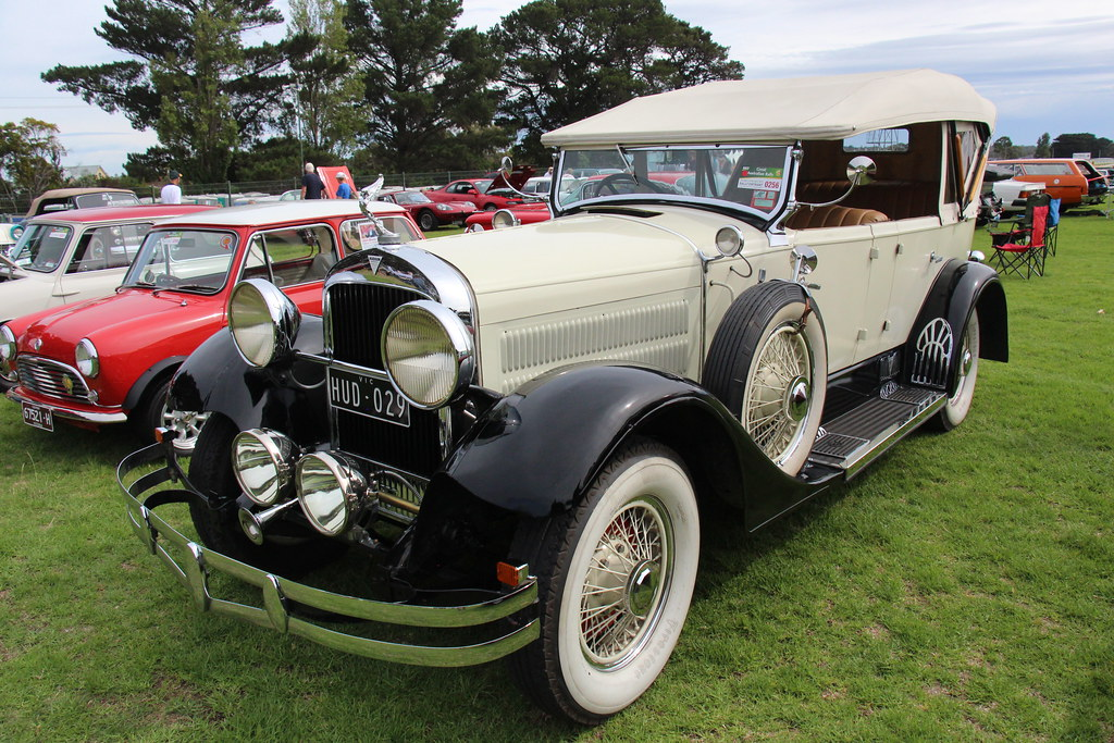 1929 Hudson Super Six Phaeton The Hudson Motor Company
