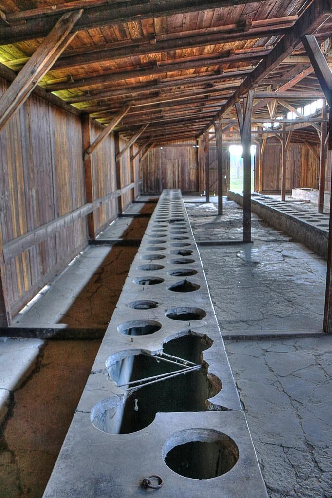 Communal Toilet At Auschwitz Ii Birkenau Prisoners
