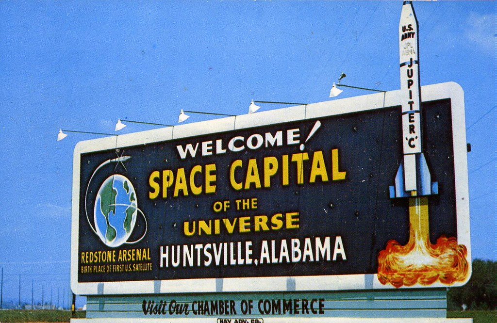 NASA / HUNTSVILLE SPACE CENTER 1959 | Carte postale de ...