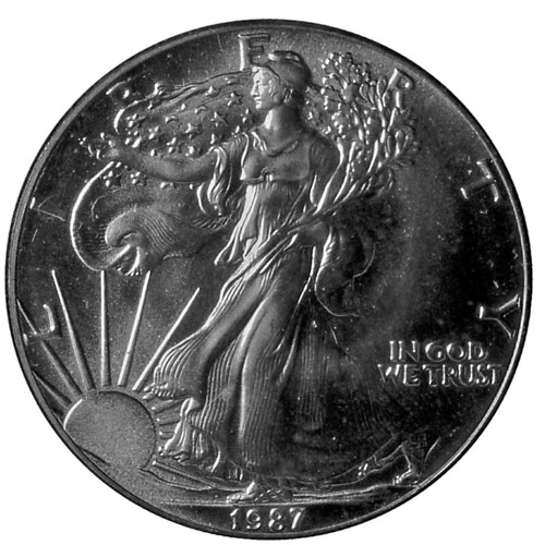 1987 Lady Liberty Silver Dollar Bob Marquart Flickr