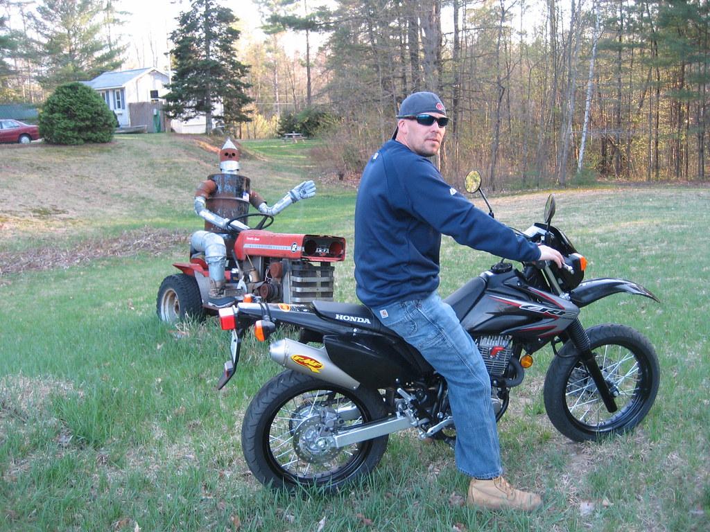 2009 Honda CRF230M and the Tinman | 2009 Honda CRF230M and t… | Flickr
