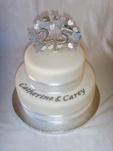 Wedding Anniversary Cake With Photo