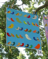 Bird Crossing at Quilting in the Garden | by Feed Dog