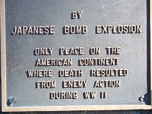 Mitchell Monument Southern Oregon WWII Japanese Bomb | by Southern Oregon Visitors Association