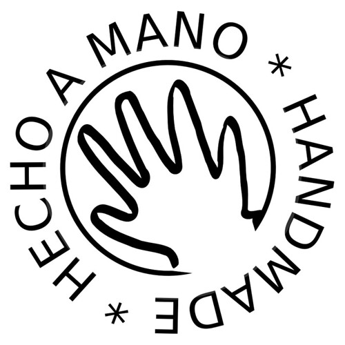 handmade hecho a mano quothandmadequot logo for labeling