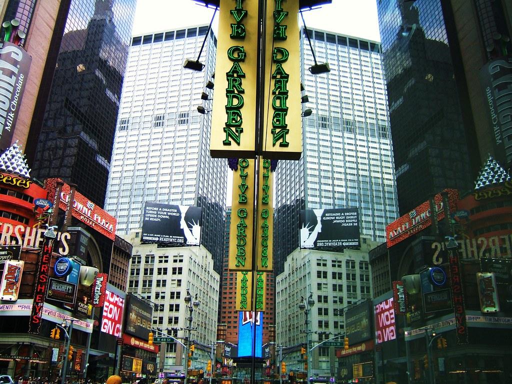 Superb Times Square NYC | By Astoria4u Olive Garden Olive Garden Olive Garden ! Times  Square NYC | By Astoria4u