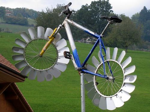 fahrrad als windrad kanton bern schweiz fahrrad als wi flickr. Black Bedroom Furniture Sets. Home Design Ideas