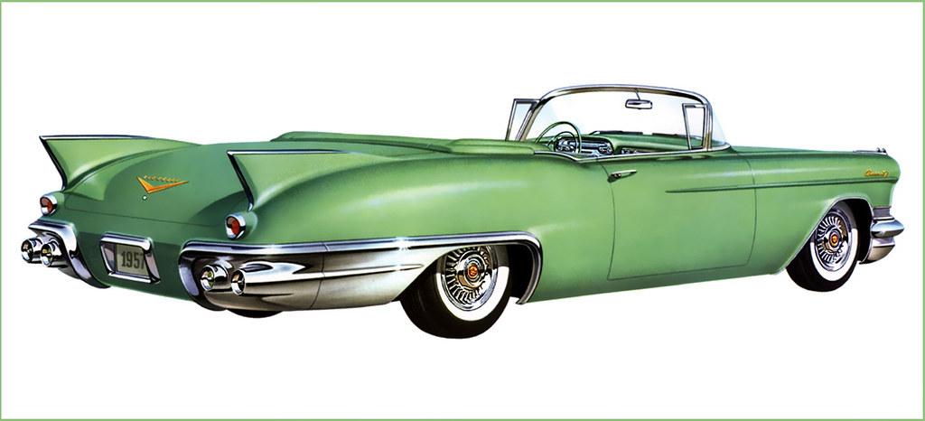 New Cadillac Eldorado >> 1957--Cadillac-Eldorado,green   [all images] click for large…   Flickr