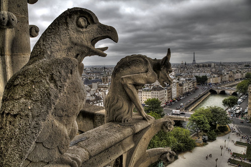 Silent Watchers - Gargoyles of Notre Dame | by Roman the Russian