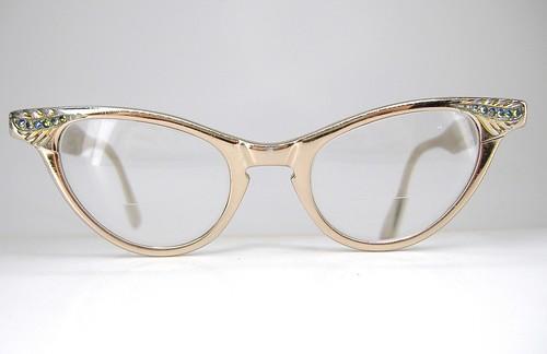 Art Craft Cat Eye Vintage Glasses