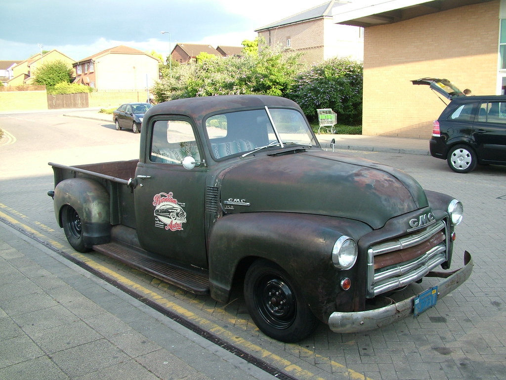 Gmc 150 Pick Up 1950 Gmc 150 Pick Up Truck With A 5ltr