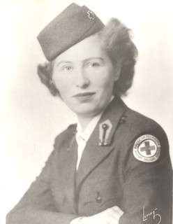 Diane Cohen Basch, Red Cross Uniform, 1945 | by JWA Commons