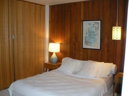 Mid Century Modern Wood Paneling Master Bedroom Flickr