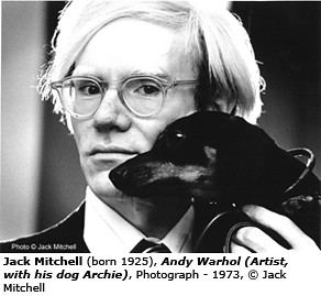 Jack Mitchell Andy Warhol. | by artimageslibrary